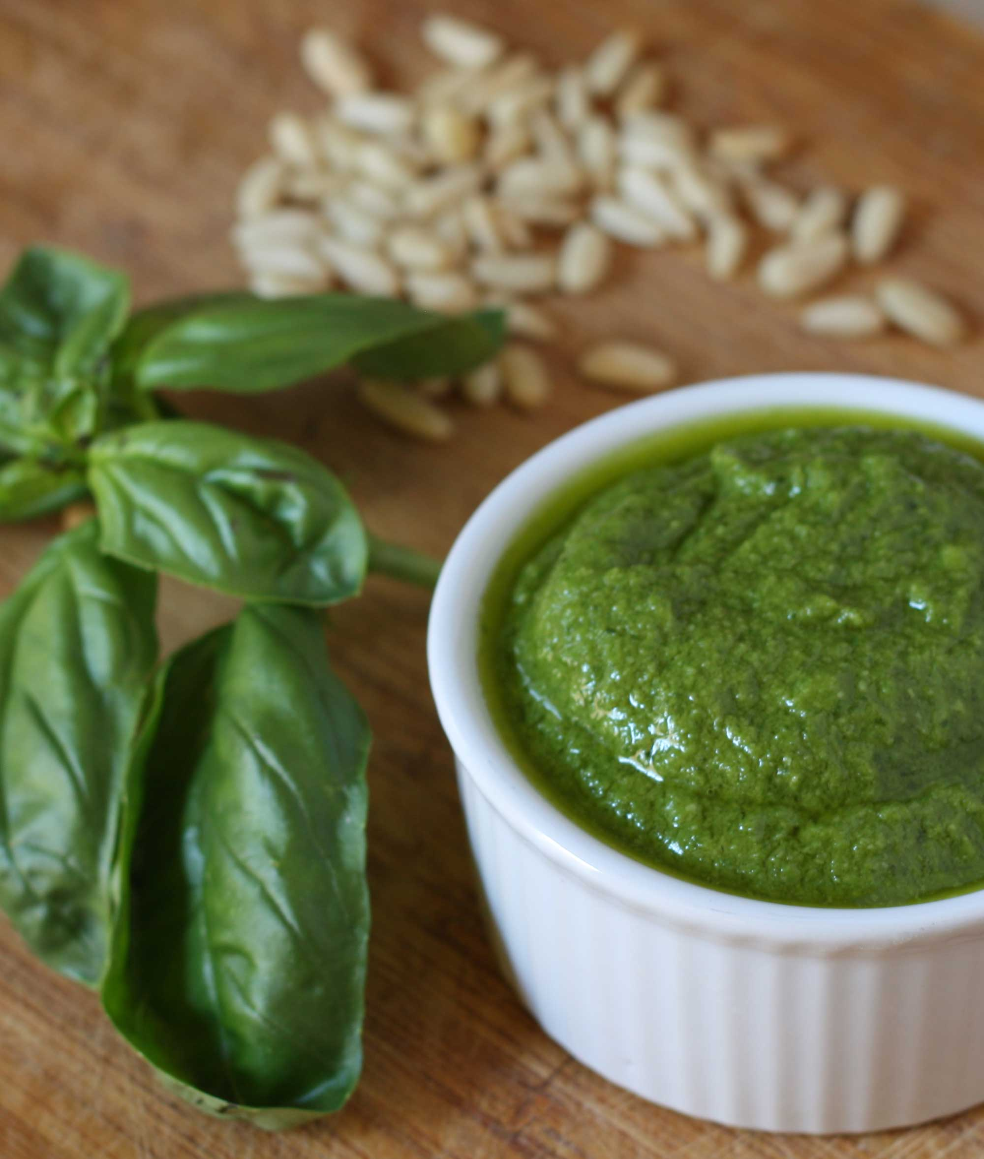 Basil Pesto Recipe — Dishmaps